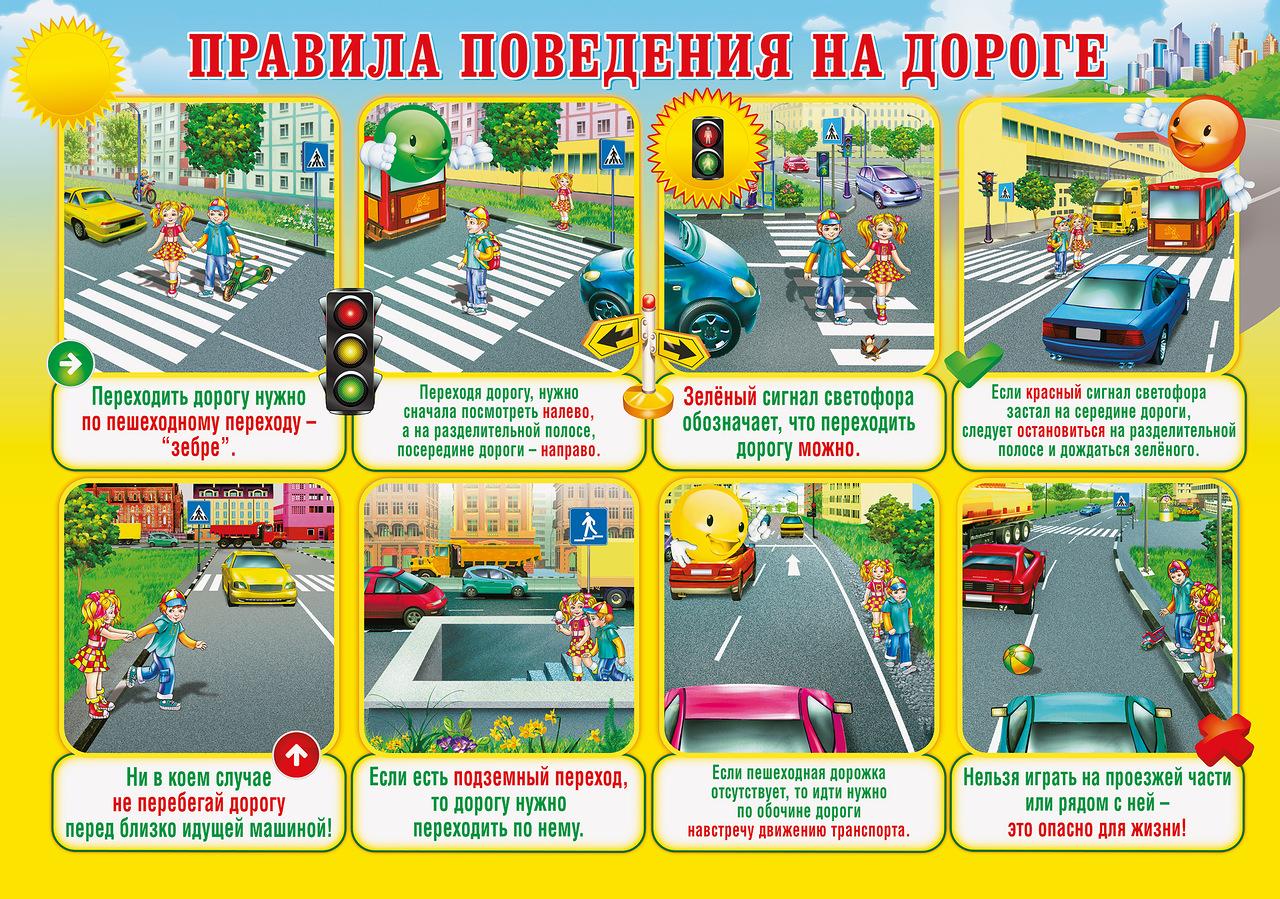 Доклад безопасность детей на дорогах 4238